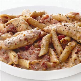 Chicken Pasta with Sun Dried Tomatoes
