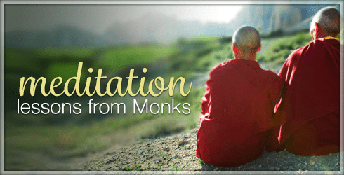 Meditation Lessons from Monks