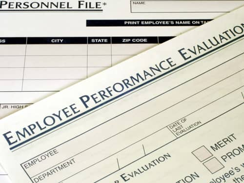 Employee Performance Evaluation Sheet