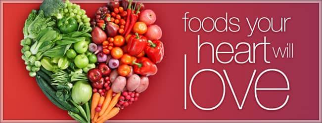 cause of the month, heart smart, foods good for heart