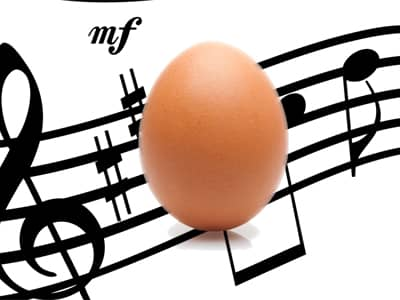 Egg Music Notes