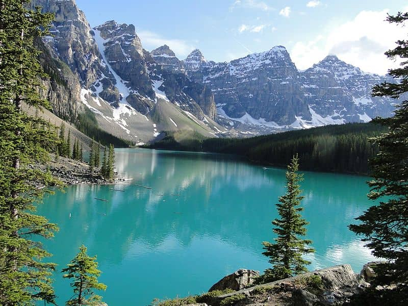 moraine lake, canada, 20 Most Beautiful Places