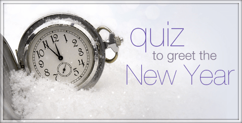 Quiz to Greet the New Year