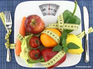 Health food scale