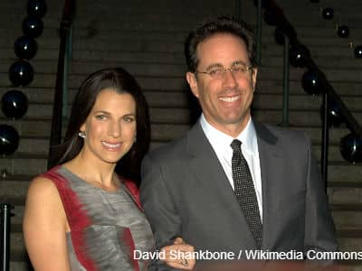 Jerry Seinfeld and Wife