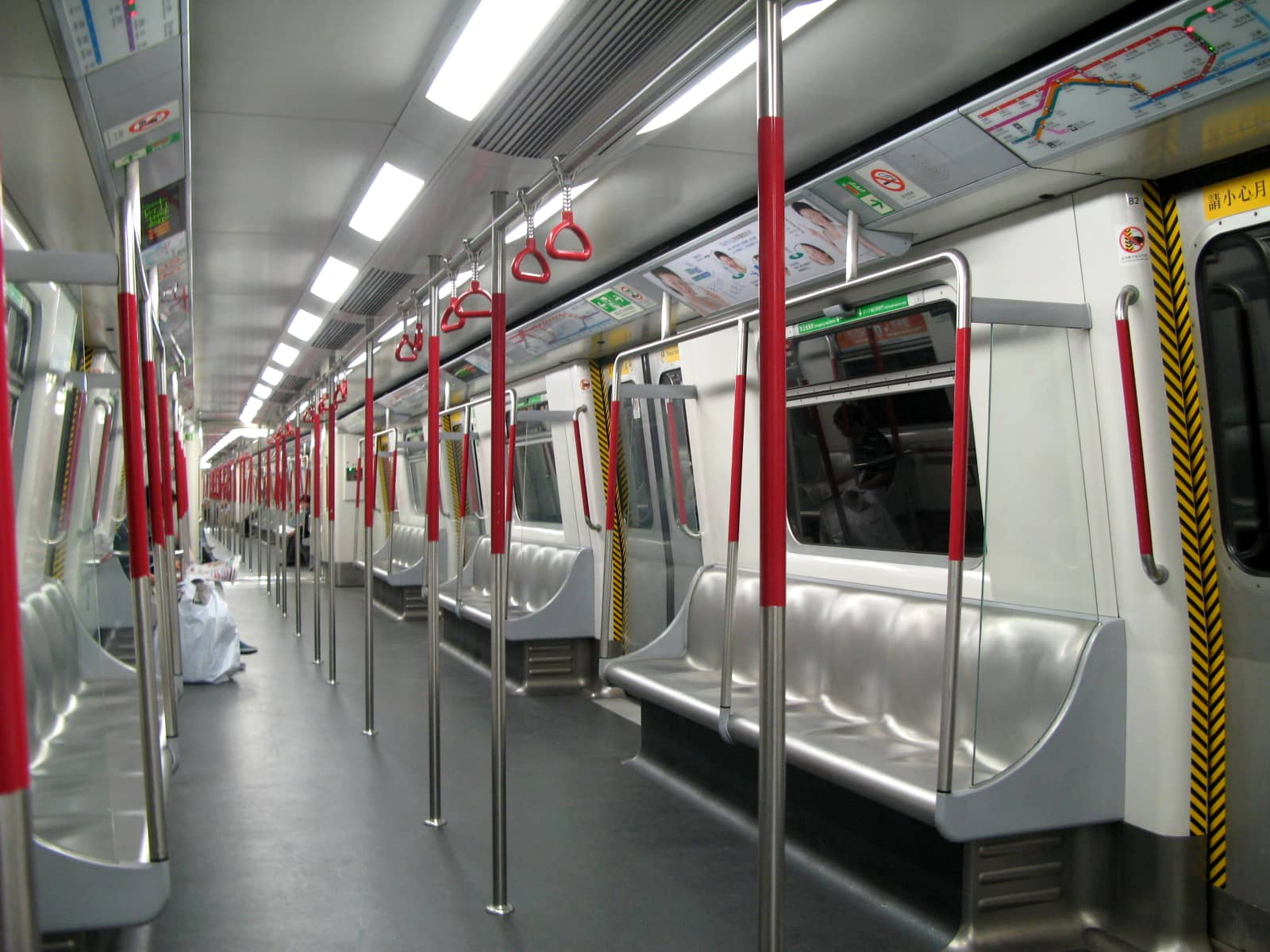 trains interior