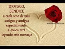 Oración por ti, mi amigo