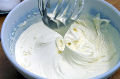 whipped cream, cooking