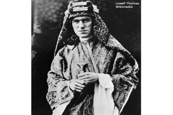 TE Lawrence WWI