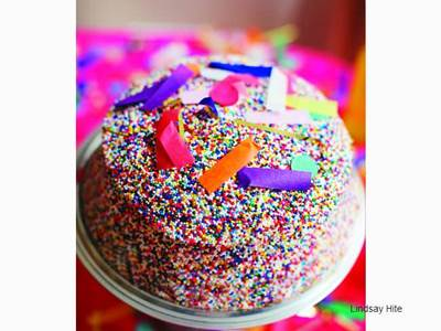 Sprinkled Cake
