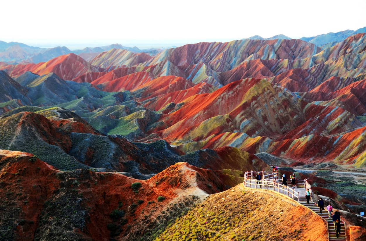 danxia landforms, china, 20 Most Beautiful Places
