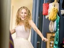 Sarah Jessica Parker as Carrie Bradshaw on Sexy and the City