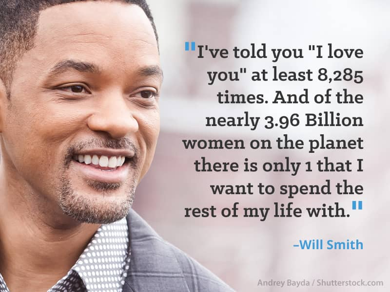 10 celebrity quotes from men who adore their wives