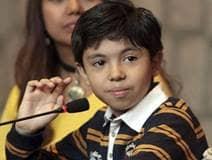 Niño genio mexicano
