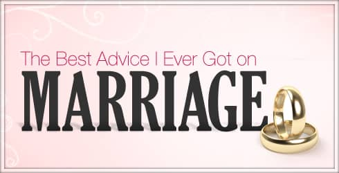 Best advice on marriage