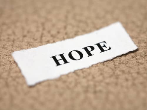 A hope sign