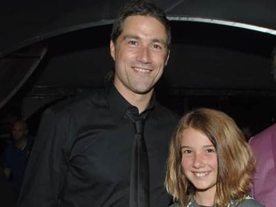 Matthew Fox with daughter Kyle