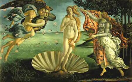 Venus Roman Goddess of love