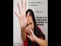 IMÁGENES FUERTES: No a la violencia contra la mujer