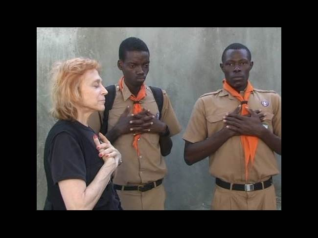 dr judy training boy scouts haiti
