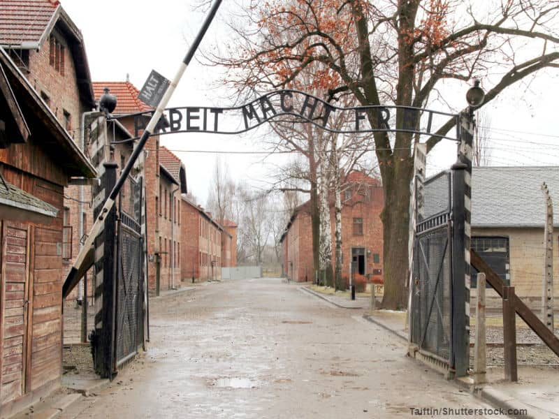 What is Worse than Taking Pictures at Auschwitz?