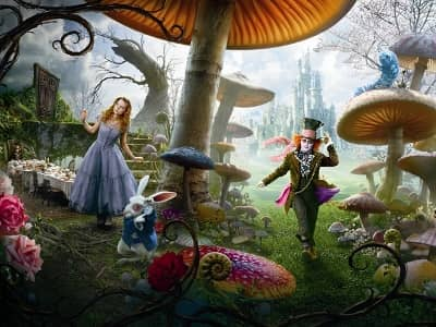characters from alice in wonderland. Alice in Wonderland Intro