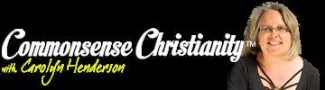 Commonsense Christianity Logo