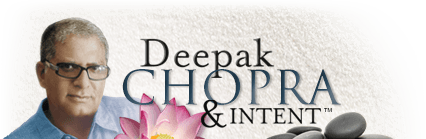 Deepak Chopra and Intent Logo
