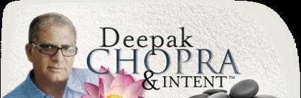 Deepak Chopra and Intent Logo
