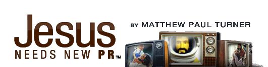 Jesus Needs New PR Logo