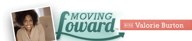 Moving Forward With Valorie Burton Logo