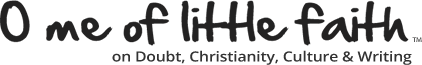O Me of Little Faith Logo