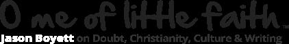 O Me of Little Faith Logo