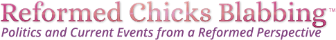 Reformed Chicks Blabbing Logo
