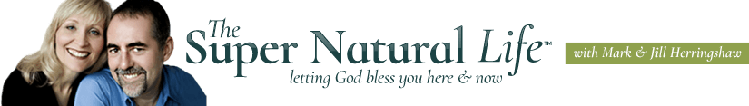 The Super Natural Life - prayers for strength, words of wisdom, daily bible reading Logo