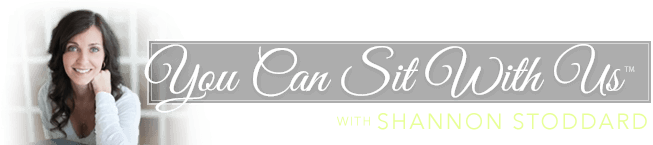 You Can Sit With Us Logo