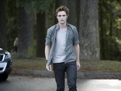 Edward Walking Alone