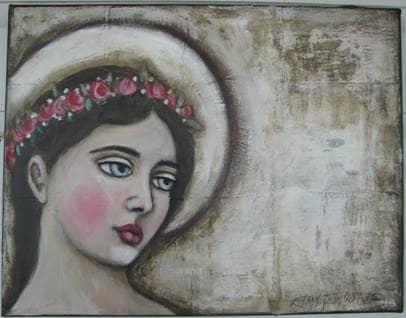 Mary Folk Art