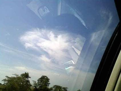 Angel Sightings angel cloud
