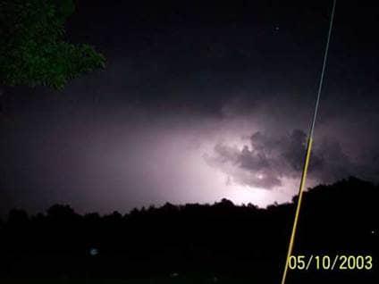Angel Sightings storm angel cloud