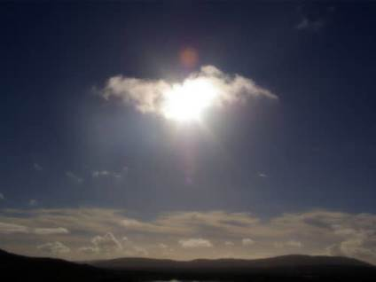 Angel Sightings angel cloud light