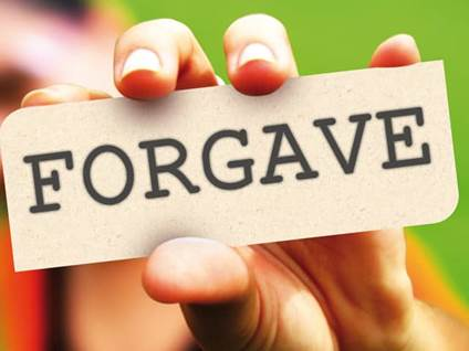 Holding Forgave Card