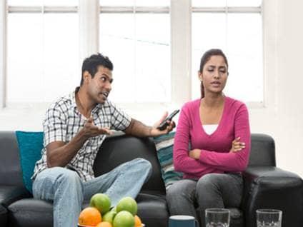 Arguing Couple