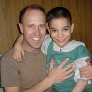 Maj. Scott Southworth Soldier adoptive father Iraqi orphan