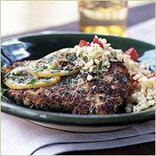 Herbed Chicken Piccata