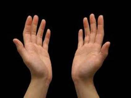 hands prayer
