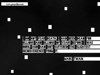 inspiring quotes fear death